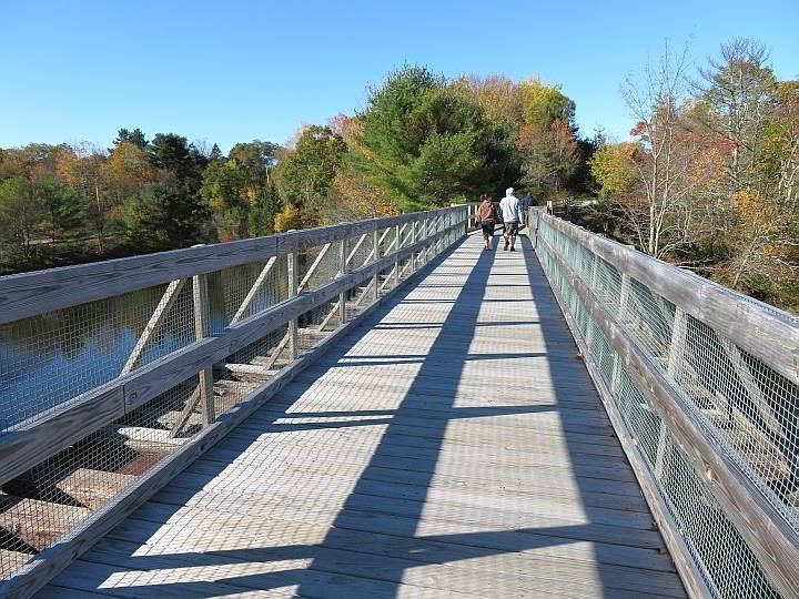 Belfast Maine Rail Trail is a wheelchair accessible 2.3 mile trail along the Passagassawaukeag River