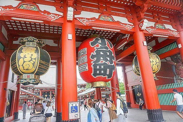 Take a solo trip to Japan and visit the Sensoji Temple located in Asakusa Tokyo