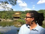 Japan solo travel guide by Natoya - seen here visiting Kinkaku-ji Kyotoaku-ji Kyoto