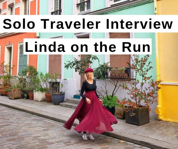 Solo traveler interview with Linda on the Run baby boomer travel blogger
