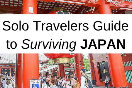 The Solo Traveler's Guide to Surviving Japan