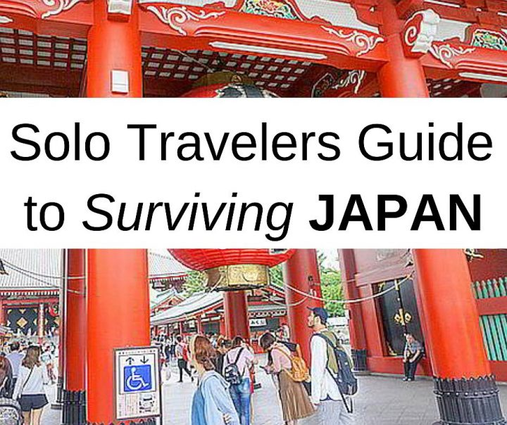 Solo travelers guide to surviving Japan