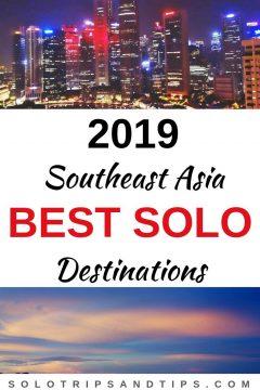 2019 Southeast Asia best solo destinations