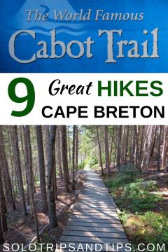 9 Great hikes in Cape Breton along the world famous Cabot Trail in Nova Scotia Highlands National Park Canada