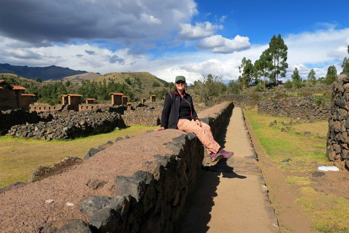Visiting the Inca ruins in Peru