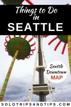 Best Things to do in downtown Seattle - handy map included