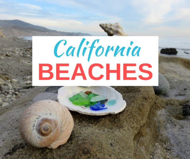 Carpinteria California beaches include excellent beach glass and beachcombing spots