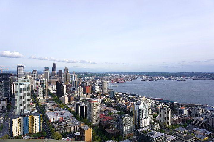 Olympic Sculpture Park is a beautiful walking art garden by the Seattle Art Museum