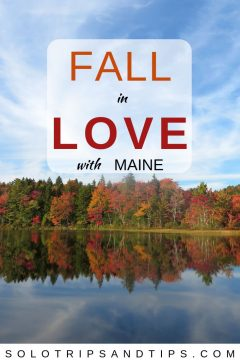 Fall in LOVE with Maine fall colors New England USA