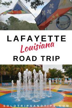 Lafayette Louisiana road trip Southern USA