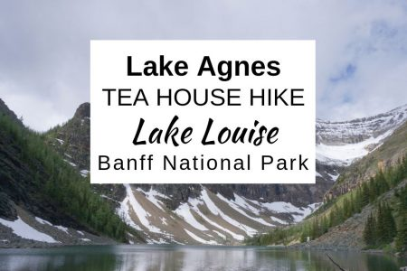 Lake Agnes TEA HOUSE HIKE at Beautiful LAKE LOUISE Alberta