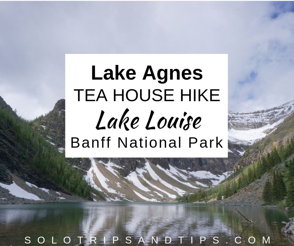 Lake Agnes TEA HOUSE HIKE at Beautiful LAKE LOUISE Alberta