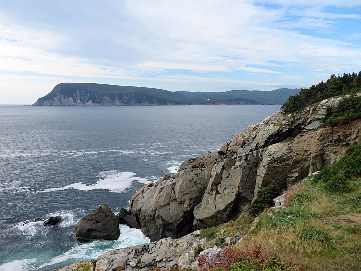 Coastal views are plentiful on the Middle Head hiking trail by the Keltic Lodge at the Highlands