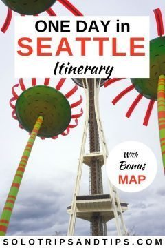 One day in Seattle itinerary with bonus map of the things to do in Seattle