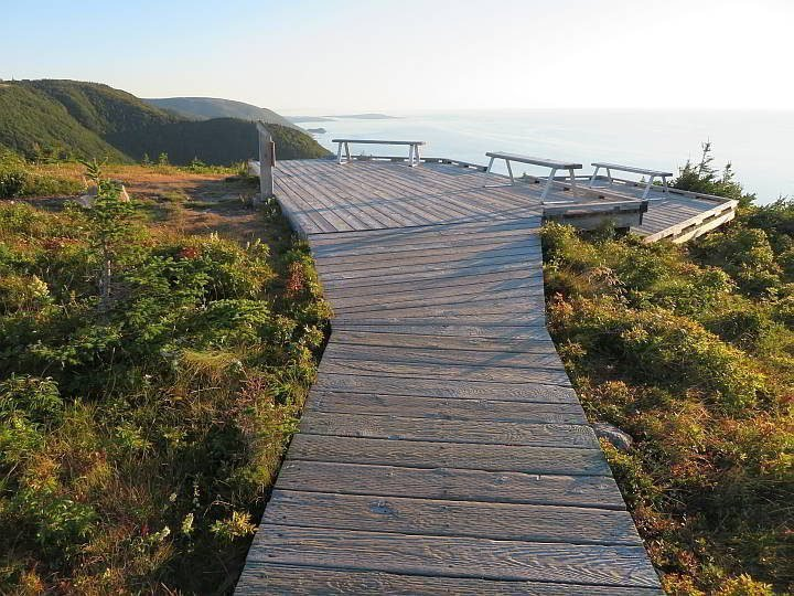 Skyline Trail is the most famous of the Cabot Trail hikes of Cape Breton Nova Scotia