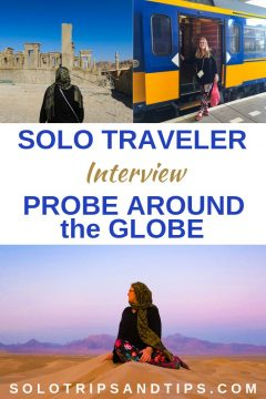 Solo traveler interview with Naomi of Probe Around the Globe travel blog