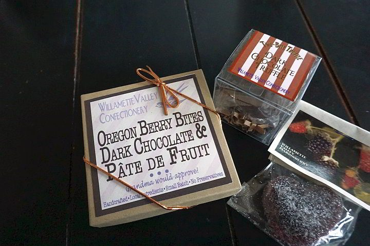 Willamette Valley Chocolates - small batch handcrafted from local ingredients - perfect Oregon souvenir