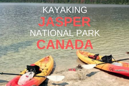 AMAZING Kayaking Adventure in Jasper National Park Canada