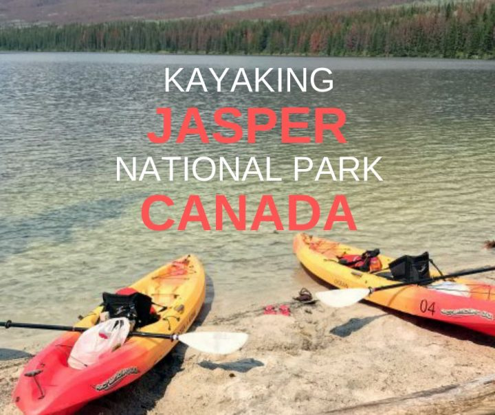 Kayaking Jasper National Park Alberta Canada