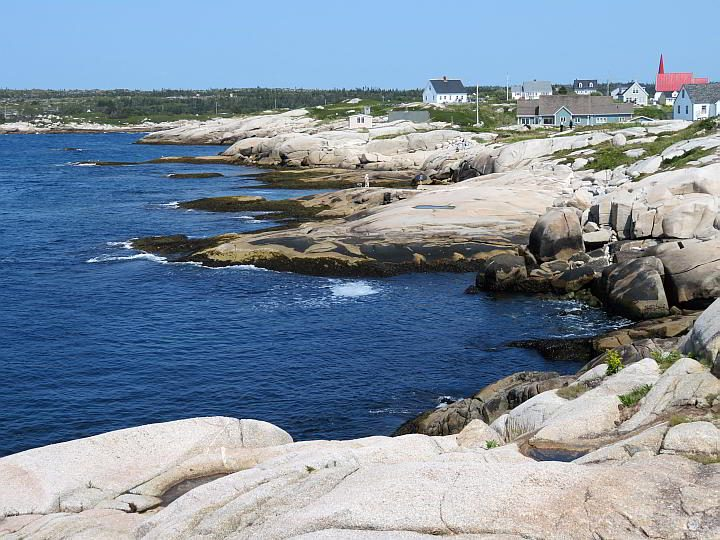Peggy's Cove Village is a must visit stop on your Nova Scotia road trip