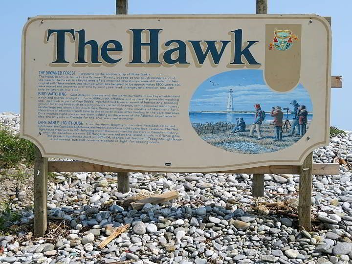 The Hawk is Nova Scotia's most southerly point on the mainland