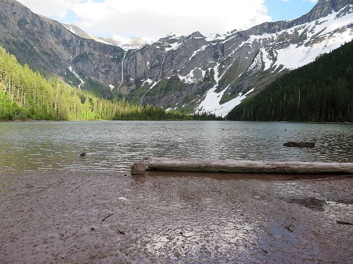 Avalanche Lake trail summit at Glacier park in MT