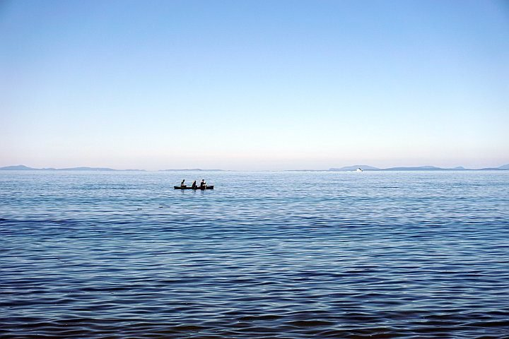 Canoeing at Port Townsend Washington