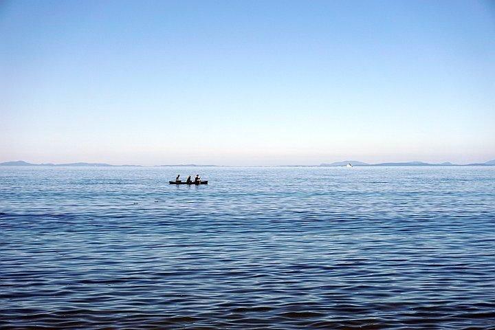 Canoeing at Port Townsend Washington