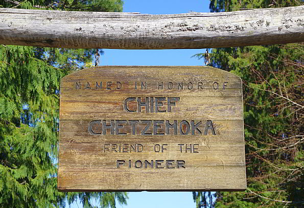 Chetzemoka Park in Pt Townsend is named in honor of Chief Chetzemoka