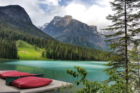 Emerald Lake BC Weekend Getaway in Yoho National Park Canada