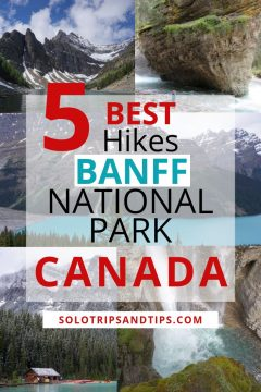 5 Best hikes Banff National Park Canada