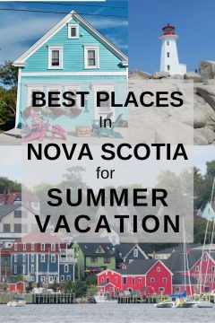 Best places in Nova Scotia for summer vacation