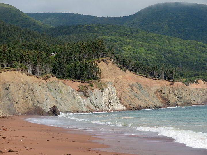 Cabots Landing Provincial Park in Cape Breton Nova Scotia