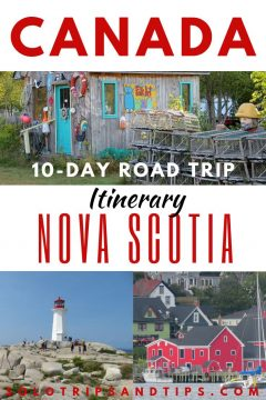 Canada 10-day Road Trip Itinerary Nova Scotia