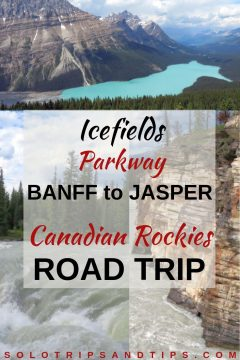 Icefields Parkway Banff to Jasper Canadian Rockies road trip itinerary