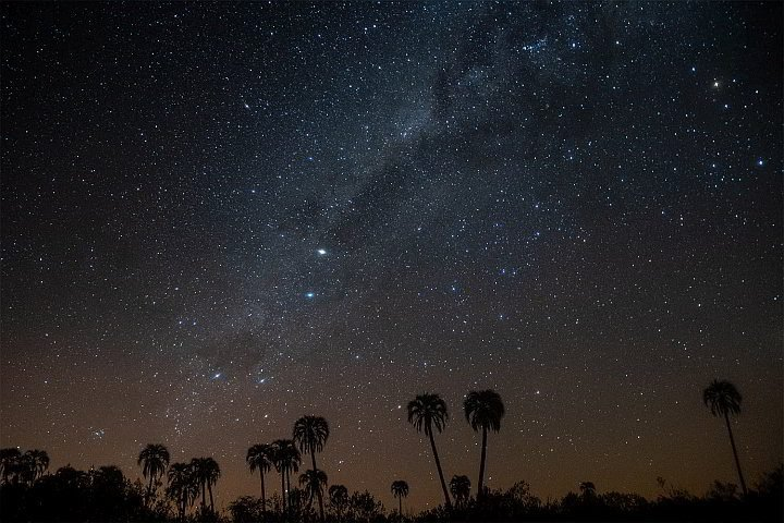 Night sky shows thousands of stars in Argentina