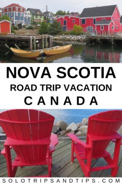 Nova Scotia road trip vacation Canada