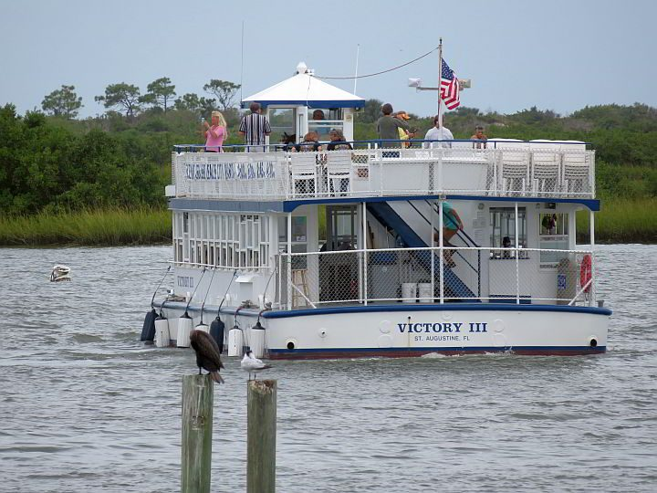 Taking a scenic boat cruise is a fun thing to do in St Augustine