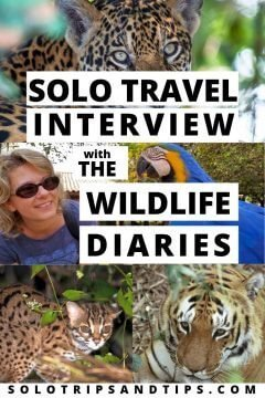 Solo Travel Interview with The Wildlife Diaries travel blog