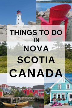 Things to do in Nova Scotia Canada