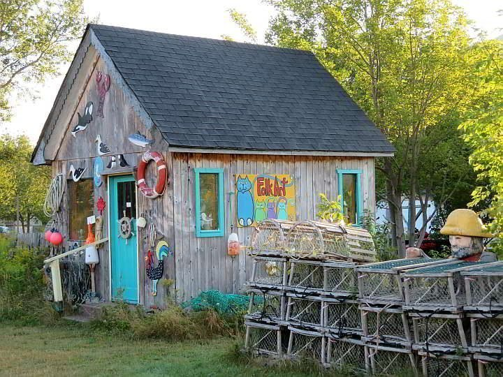 Timmons Folk Art Studio Pleasant Bay Cape Breton NS