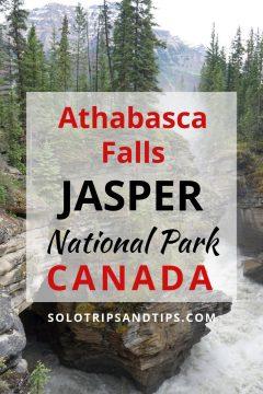 Athabasca Falls Jasper National Park Canada