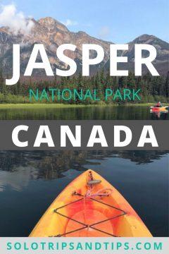 Jasper National Park Canada kayaking