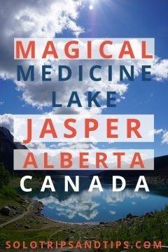 Magical Medicine Lake Jasper Alberta Canada