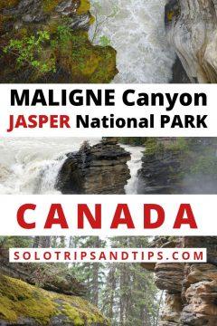 Maligne Canyon Jasper National Park Alberta Canada