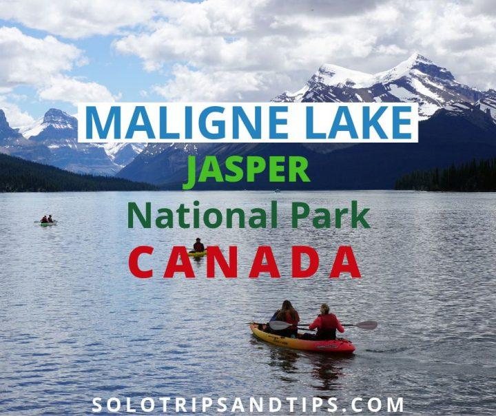 Maligne Lake Jasper National Park Canada