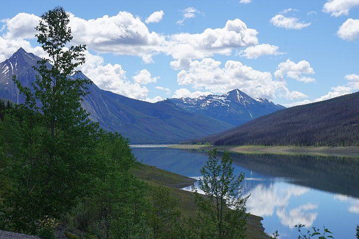 Medicine Lake Jasper AB Canada