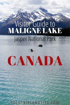 Visitor Guide to Maligne Lake Jasper National Park Canada