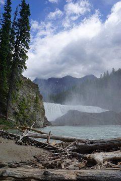 Beautiful waterfall in BC Canada