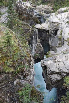 Mistaya Canyon Banff Alberta Canada